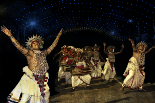 12 points-The Dance Troupe-R H Samarakone