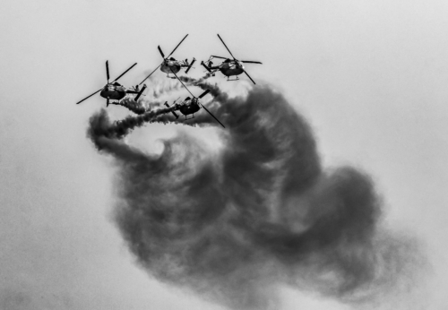 13 points-Smoke Painting-Ajith Hidakaraldeniya