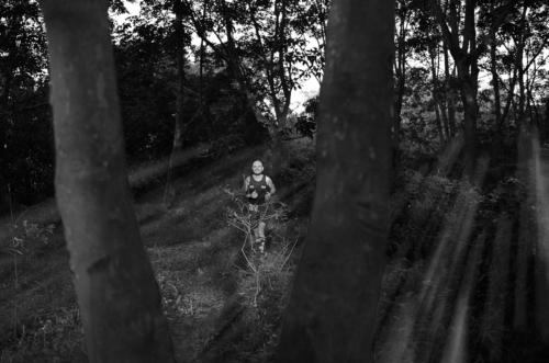 9 points-Running thru the woods-Fonny de Fonseka
