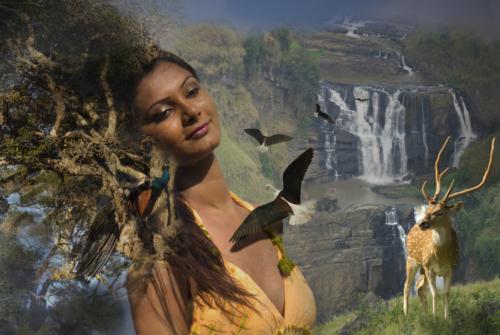 9 points--Goddess Earth-Ajitha Edirimanna
