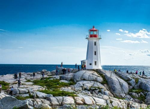 9 points- Lighthouse Nova Scotia-Mervyn Perera